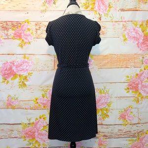 bebe Dresses - Bebe O Polka Dot Wrap Dress